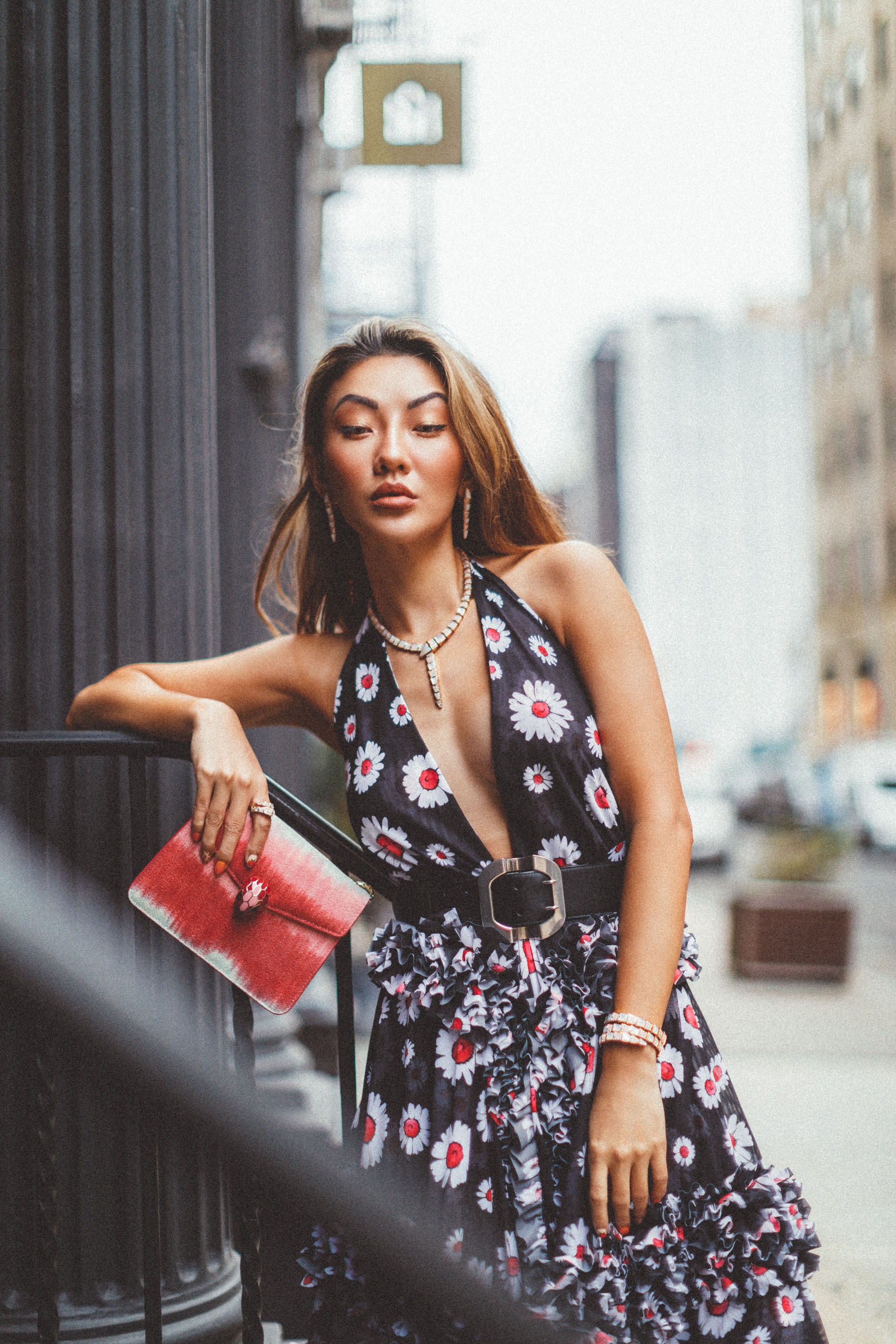 outfit mistakes, bulgari jewelry, floral dress // Notjessfashion.com