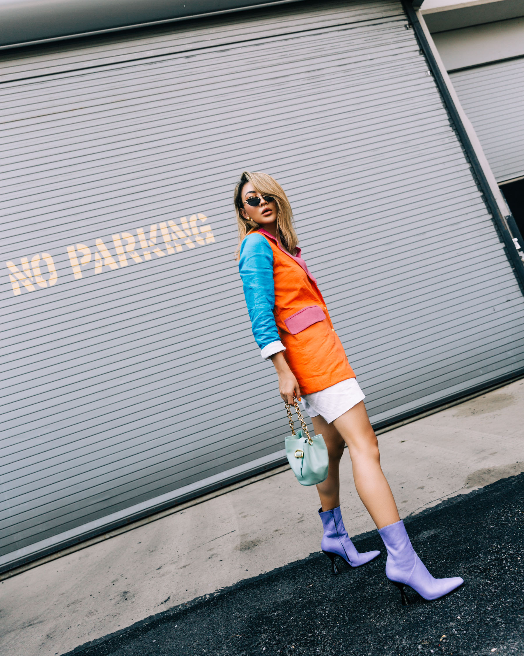 best fall 2019 boots, lavender boots, doraytemur boots, square toe boots, all things mochi blazer // Notjessfashion.com