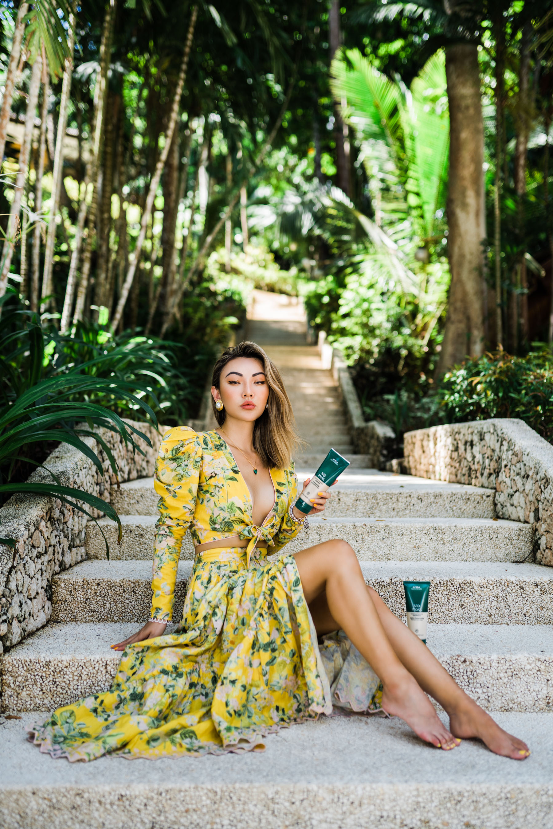 summer trends to retire, tropical dress, matching set // Notjessfashion.com