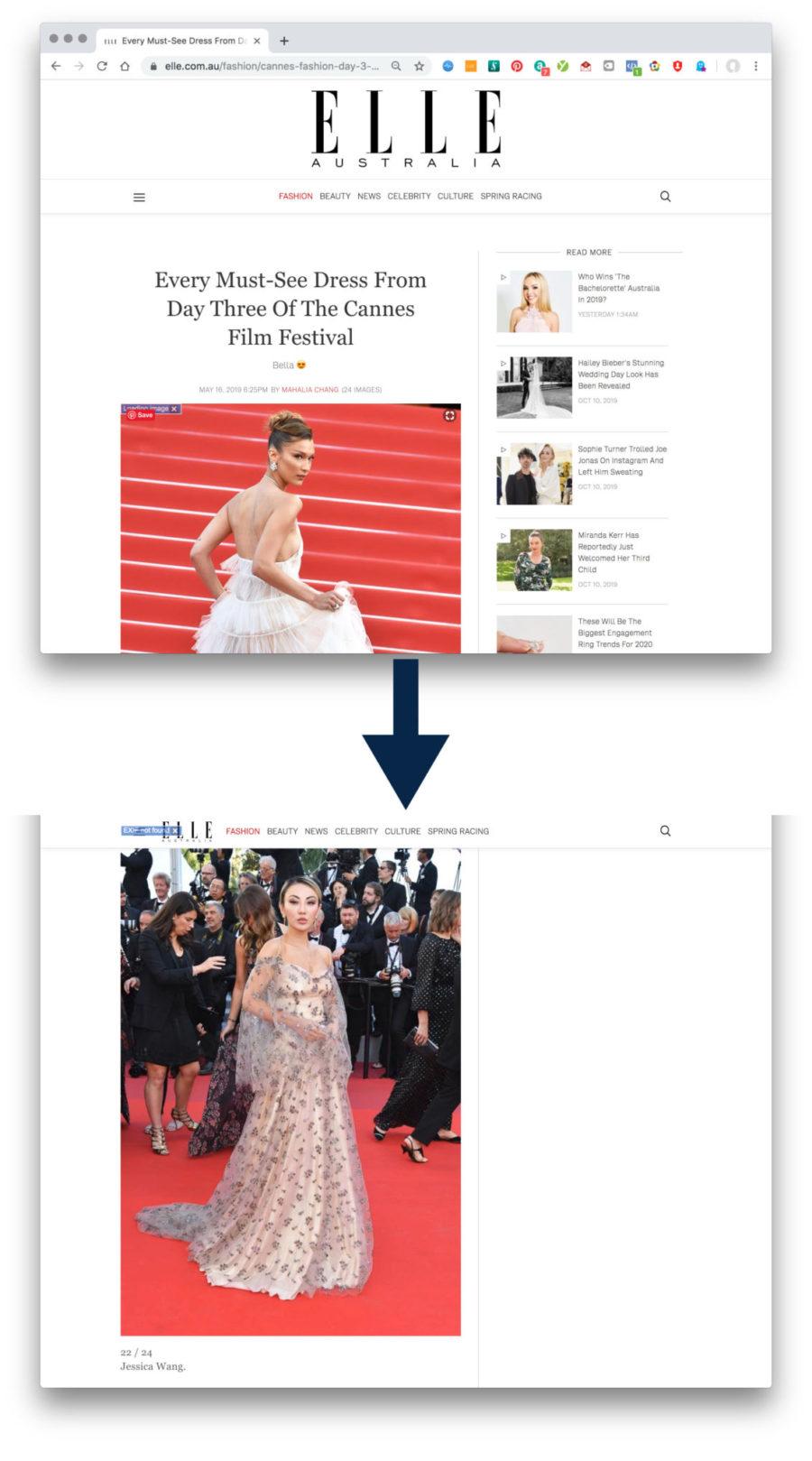 Elle Cannes Film Festival 2019 Jessica Wang Feature || NotJessFashion.com