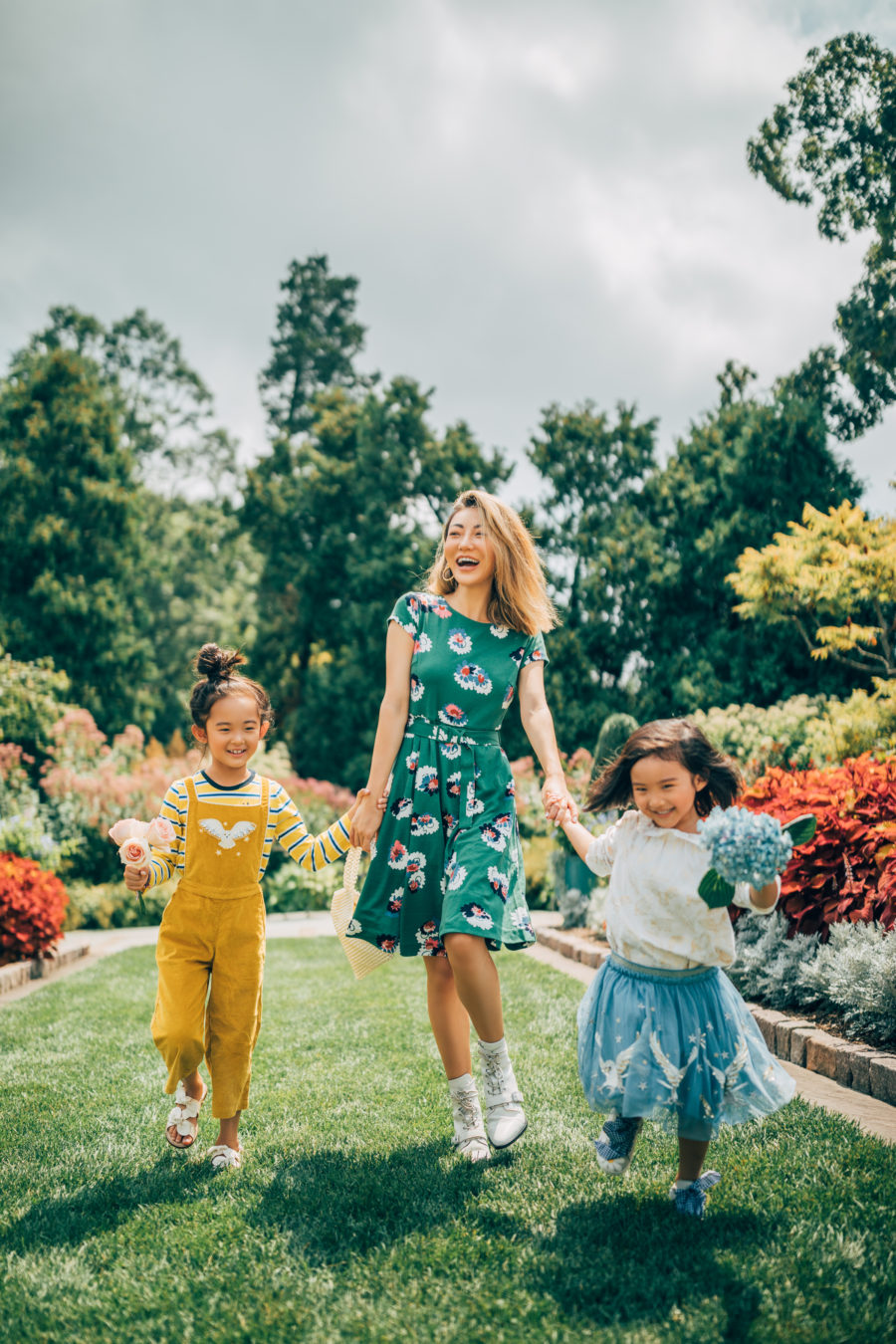 fashion blogger jessica wang with kids celebrating international women's day // Notjessfashion.com