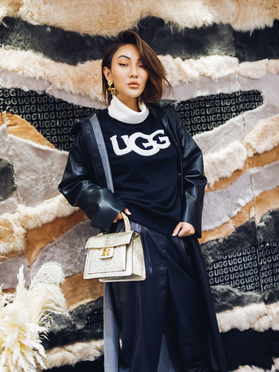 ugg logo sweater // Notjessfashion.com