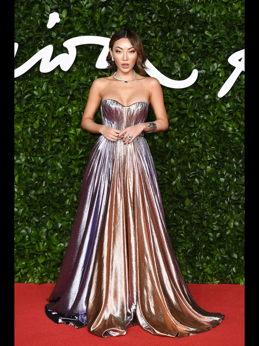 British Fashion Awards 2019 - Jessica Wang in Ralph & Russo Cover