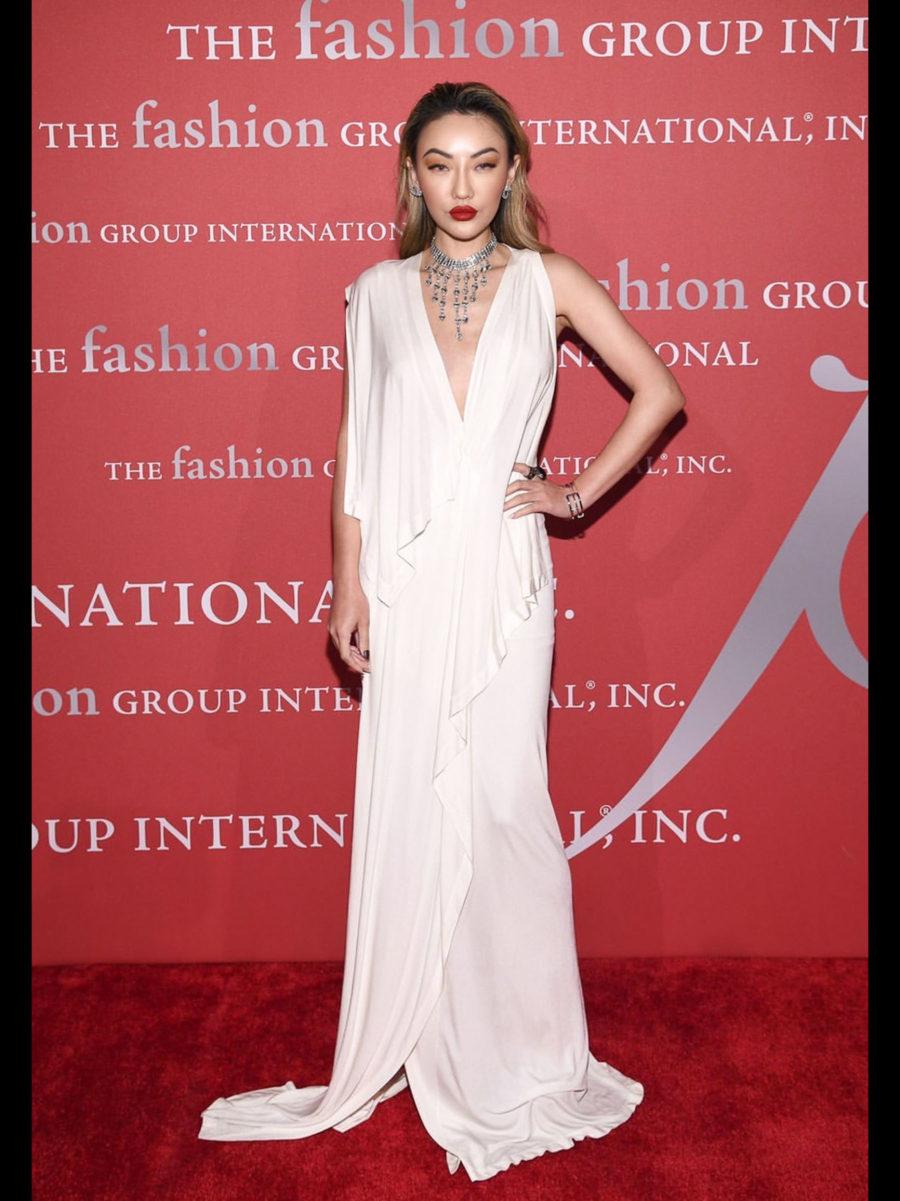 Fashion Group International 2019 NYC Gala Red Carpet Jessica Wang