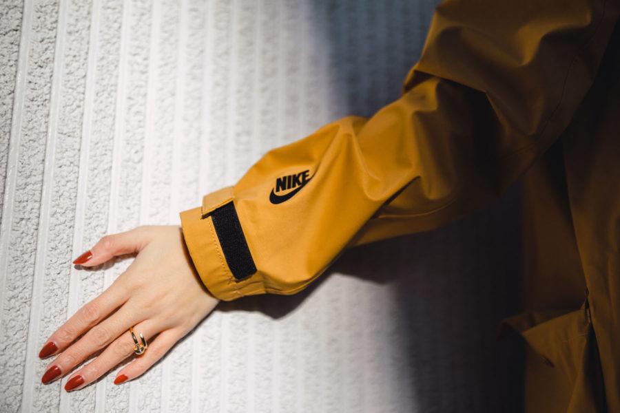fashion blogger jessica wang shares ways to wear a parka featuring Nike Parka // Notjessfashion.com