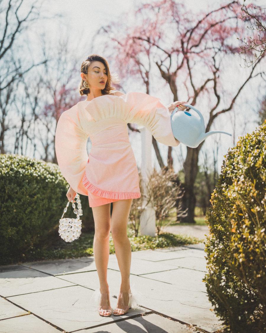 fashion blogger jessica wang wears sandra mansour dress and shares sephora beauty insider sale picks // Jessica Wang - Notjessfashion.com