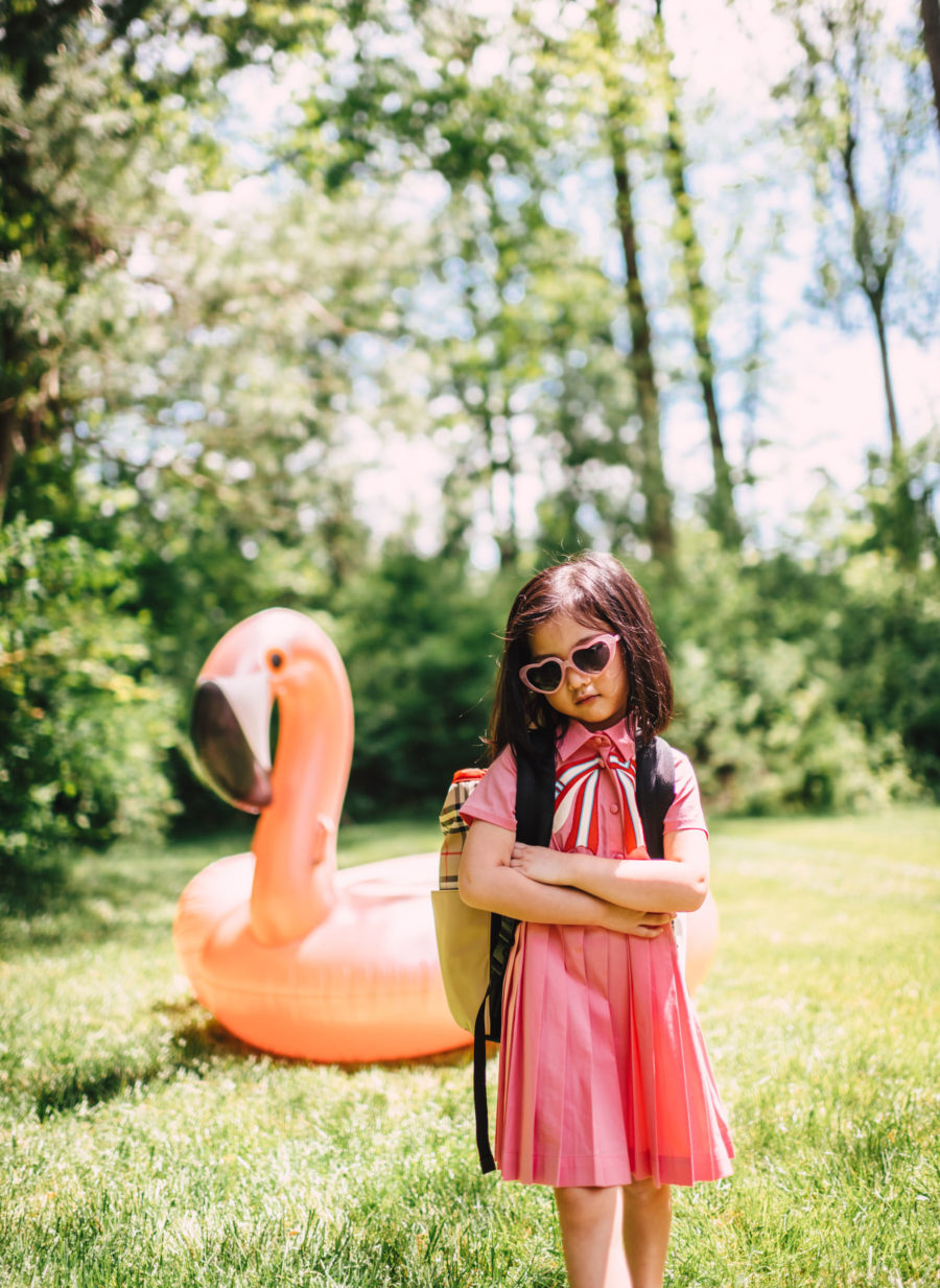 luisaviaroma summer outfits for kids featuring gucci dress // Jessica Wang - Notjessfashion.com