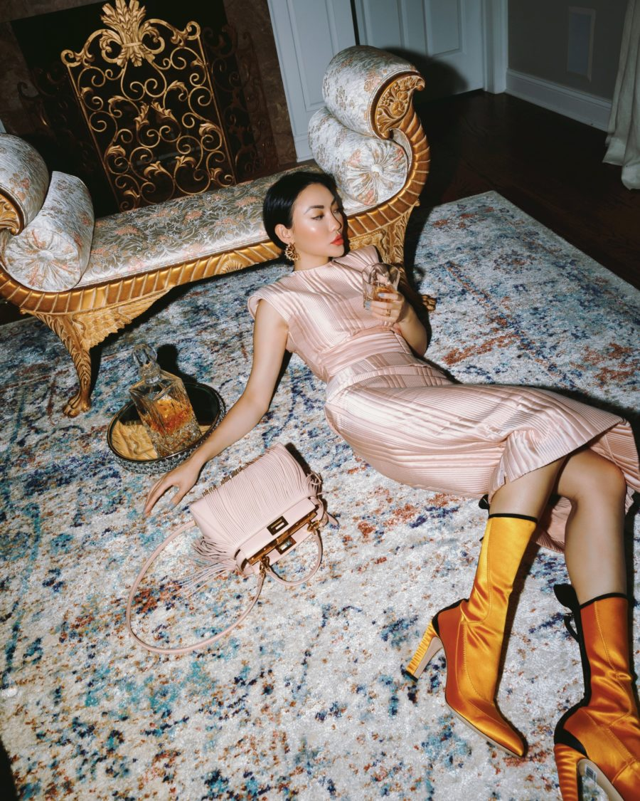 jessica wang wears head to toe fendi at home and shares expensive-looking home decor // Jessica Wang - Notjessfashion.com