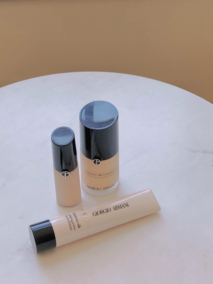 armani beauty luminous silk makeup for flawless skin // Jessica Wang - Notjessfashion.com