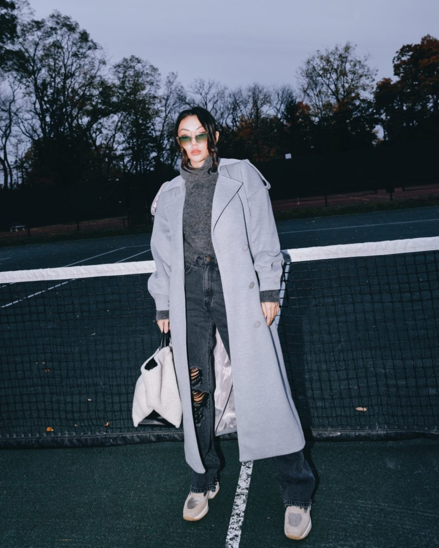 fashion blogger jessica wang wears cozy pieces for fall // Jessica Wang - Notjessfashion.com