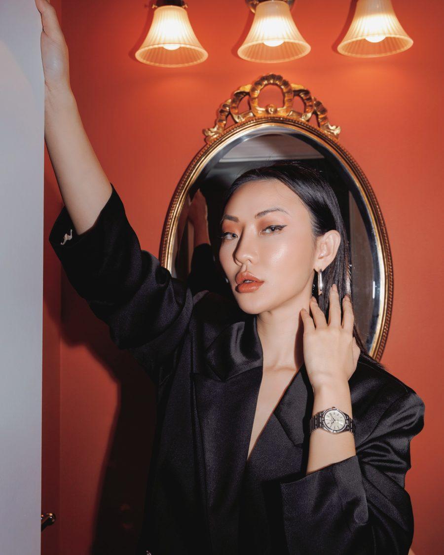 fashion blogger jessica wang wears fall makeup and shares toxic skincare ingredients // Jessica Wang - Notjessfashion.com