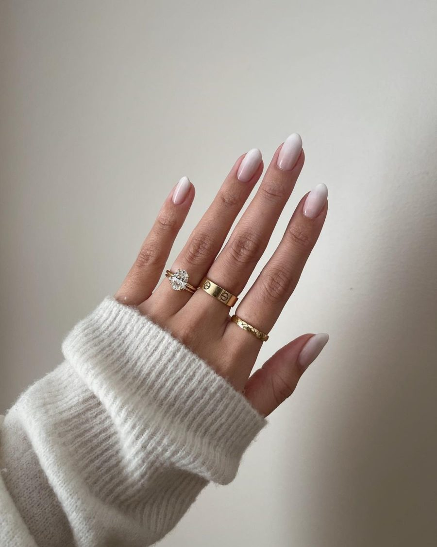 white ombre nail trends // Jessica Wang - Notjessfashion.com