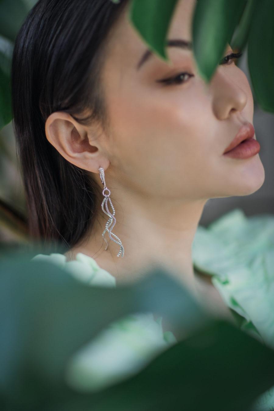 jessica wang wearing fine jewelry by lagos jewelry brand // Jessica Wang - Notjessfashion.com
