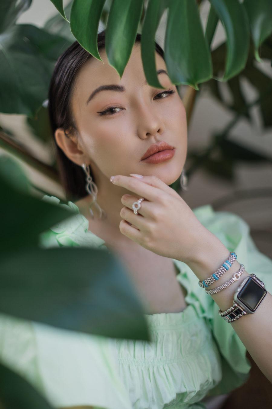jessica wang wearing lagos jewelry brand // Jessica Wang - Notjessfashion.com