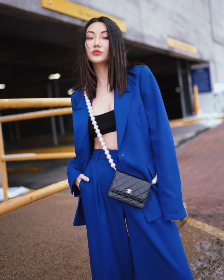 jessica wang with a pearl strap chanel bag sharing trendy handbags for summer // Jessica Wang - Notjessfashion.com