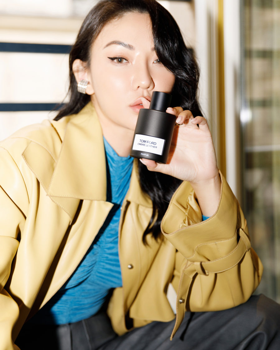 best fall fragrances featuring tom ford new ombre leather parfum // jessica wang - Notjessfashion.com